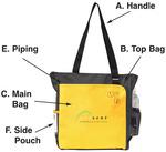 PMS-FD440 - Custom Zipper Tote