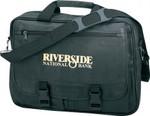 5023  - Leatherette Expandable Briefcase