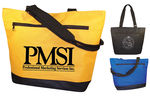 PMS-5541 - Deluxe Zippered Tote