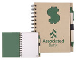 NB133 - Recycle Die Cut Notebook: $