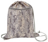 DM151 - DIGITAL CAMO DRAWSTRING TOTE BAG W/ ZIPPER