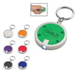 129 - Round LED Key Chain
