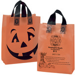 31HFS1013 - Orange Frosted Pumpkin Shopper