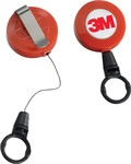 K2 Round - Round Retractable Badge Reel with Belt Clip