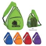 3497 - Mesh Sling Backpack
