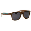 SG303 - Wood Grain Miami Sunglasses