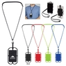 228 - Silicone Lanyard With Phone Holder & Wallet
