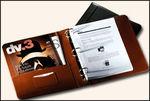 "3320GL - 2"" D-Ring Binder - Genuine Leather"