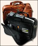5515VN - Vaqueta Organizer Laptop Briefcase - Vaqueta Napa