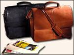 5550VN - Vaqueta Napa Laptop Flapover Briefcase - Vaqueta Napa