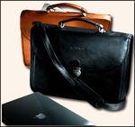 5575VN - Vaqueta Laptop Briefcase - Vaqueta Napa