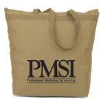 PMS-802 -  Recycled Poly Zippered Tote